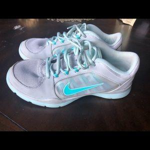 Sky Blue Nike's